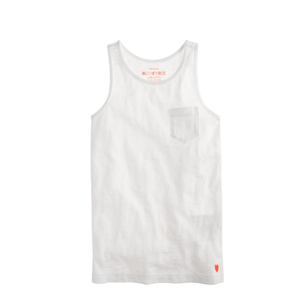 Girls' racerback tank