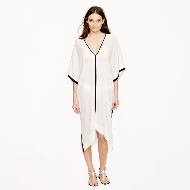 Nili Lotan® for J.Crew silk kaftan dress