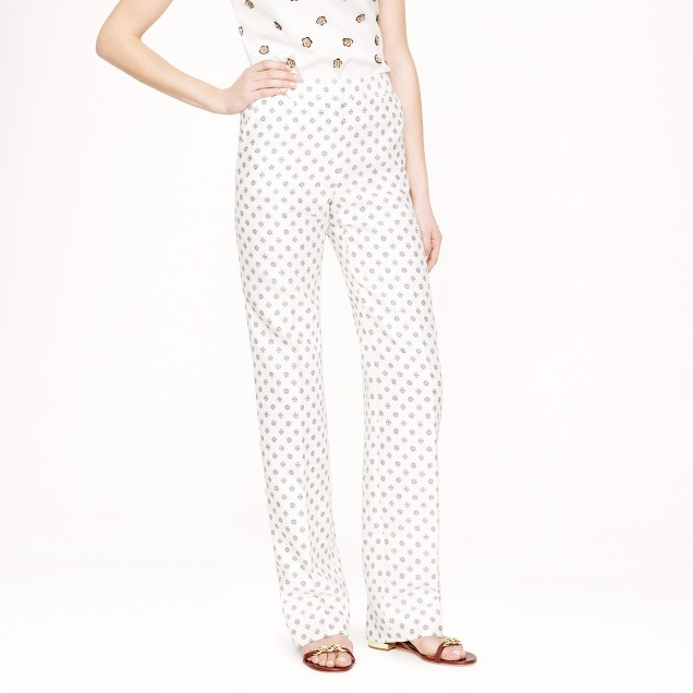 Collection dot foulard trouser