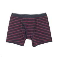 Chili powder striped knit boxer briefs