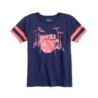 Boys' drum set tee