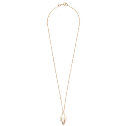 Bright droplet necklace
