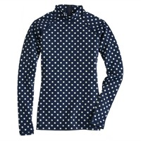 Polka-dot rash guard