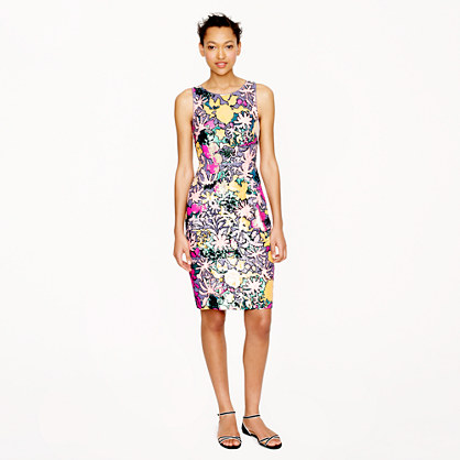 Collection tropical sequin dress