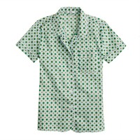 Frost foulard short-sleeve shirt