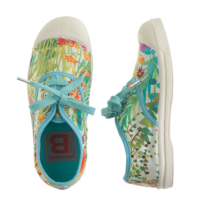 Girls' Bensimon® Elly tennis shoes in Liberty tresco floral