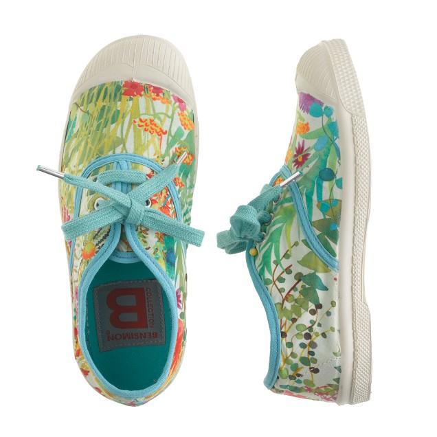 Girls' Bensimon® Elly tennis shoes in Liberty tresco floral