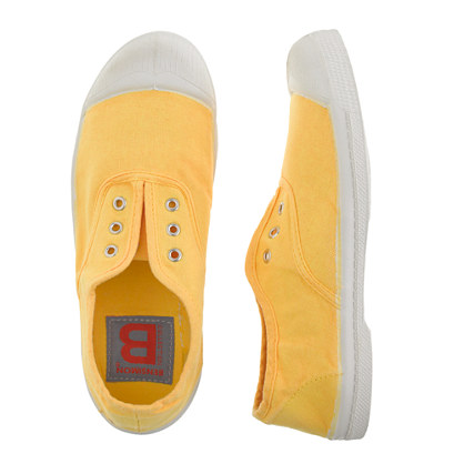 Girls' Bensimon® Elly slip-on tennis shoes