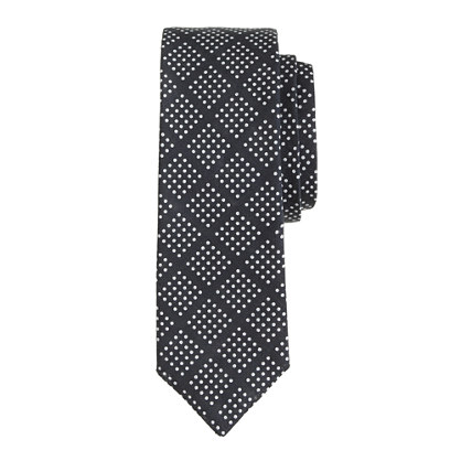 Diamond dot tie