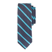 Thin-stripe tie