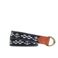 Boys' anchor D-ring belt