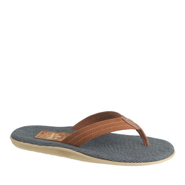 Island Slipper® flip-flops in stripe