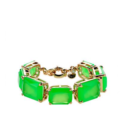 Bold stone bracelet