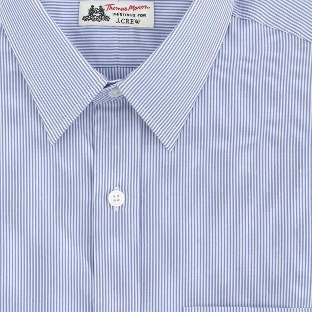 Thomas Mason® for J.Crew Ludlow shirt in baltic stripe
