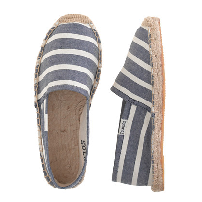 Girls' Soludos® for crewcuts espadrilles in stripe