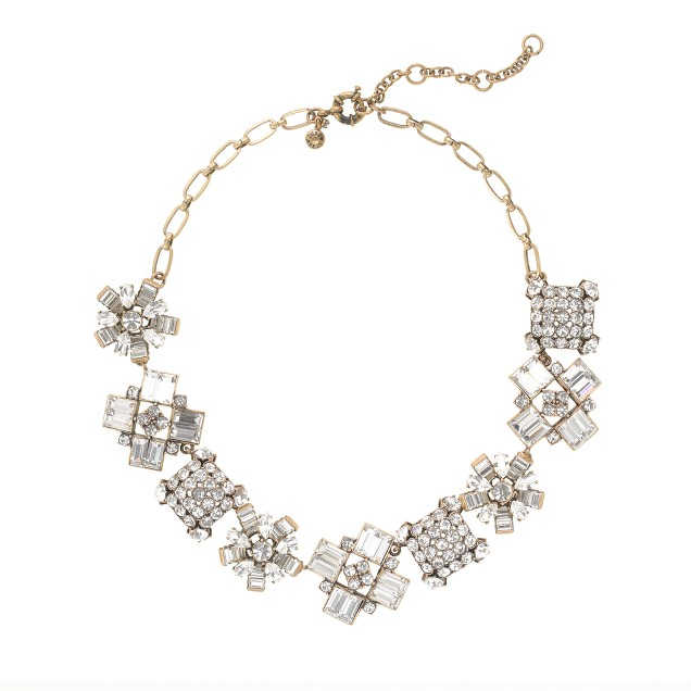 Crystal crush necklace