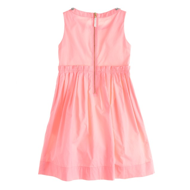 Girls' Loulie dress in poplin