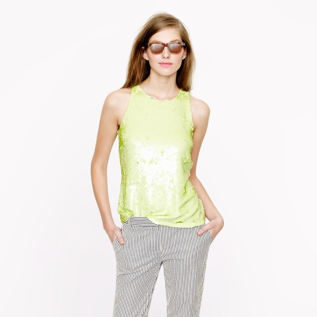 Collection shimmer sequin cami