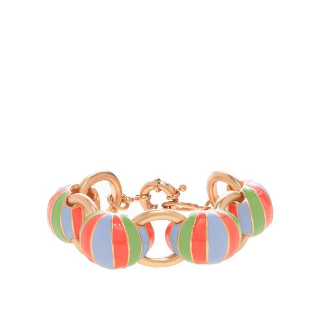 Beach ball bracelet