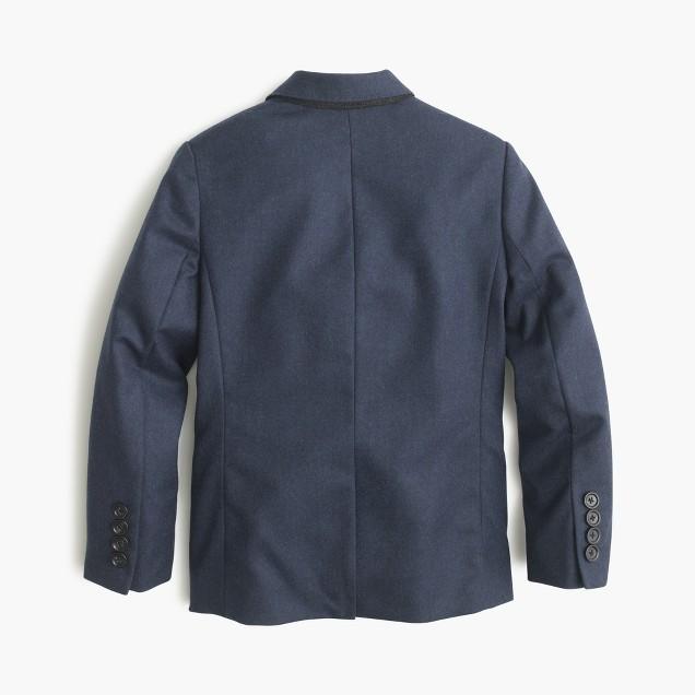 Boys' Ludlow suit jacket in Italian wool flannel