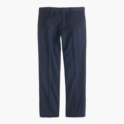 Boys' slim Ludlow suit pant in Italian wool flannel