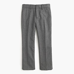 Boys' slim Ludlow suit pant in Italian wool flannel
