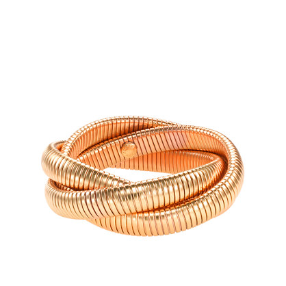 Golden twist bracelet