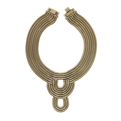 AUDEN® lenox bib necklace