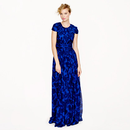 Collection Dauphine gown in watercolor floral