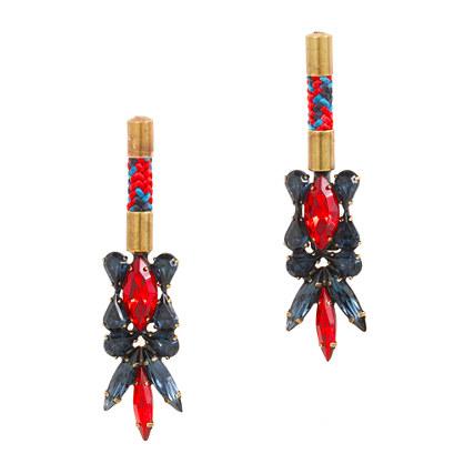 AUDEN® avery crystal earrings