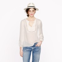 Collection lace-trim top