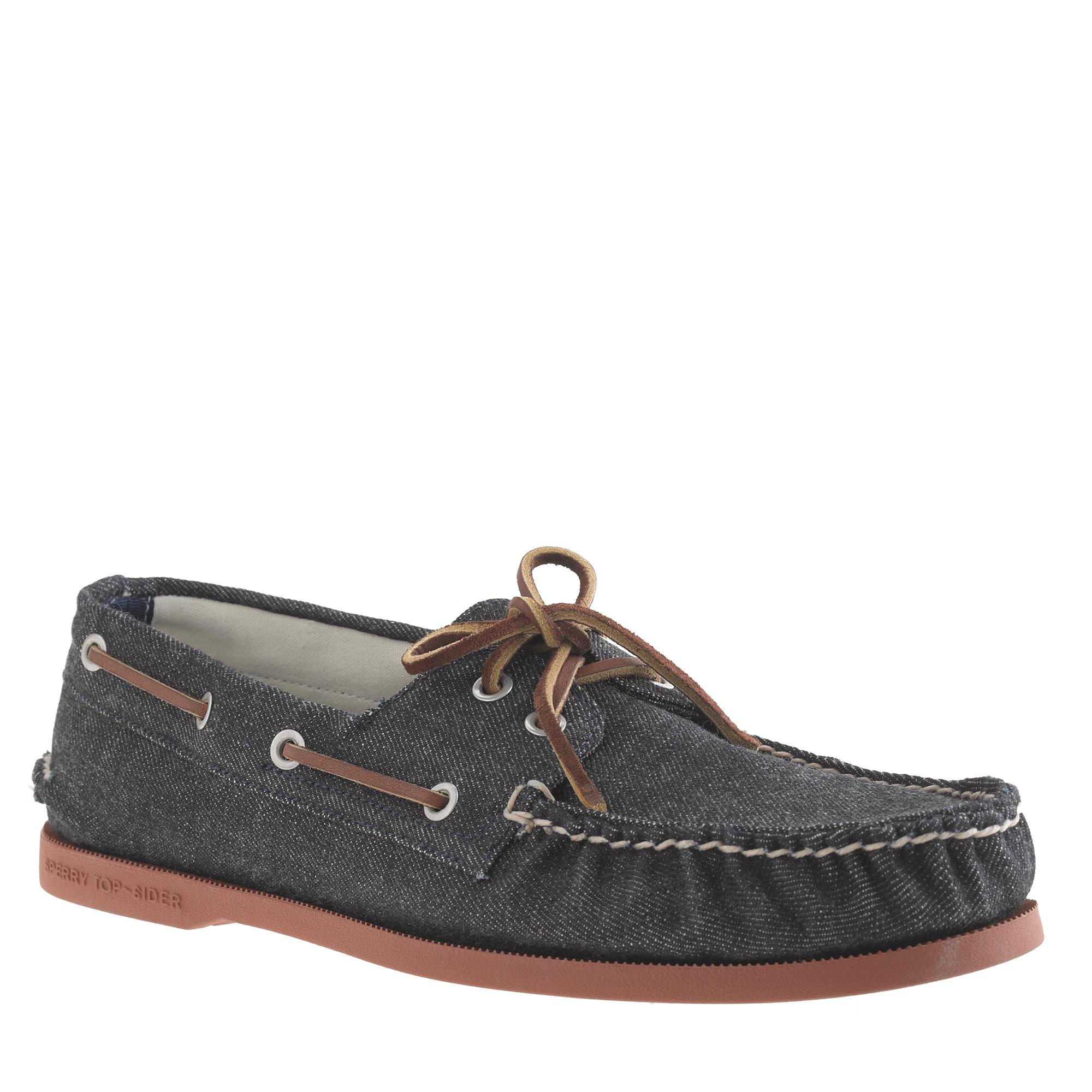 J Crew Mens Shoe Sperry