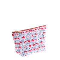 Liberty zip pouch in Matilda tulip floral