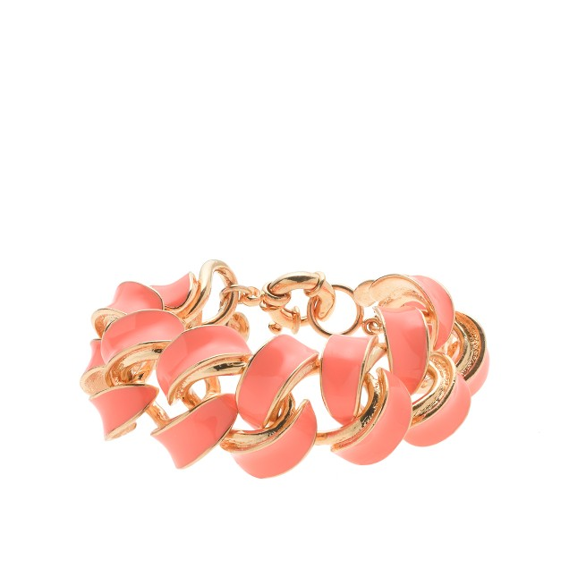 Enamel braid bracelet