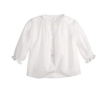 Makié swiss-dot baby top