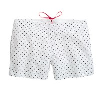Pret-à-Surf® for J.Crew back-zip boy short in polka dot