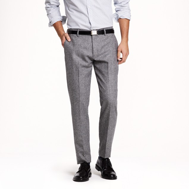 Ludlow slim suit pant in Scottish wool