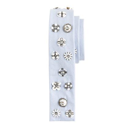 Embellished tie