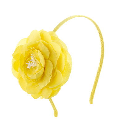 Girls' bold bloom headband