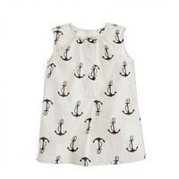 Baby tunic in candy anchors
