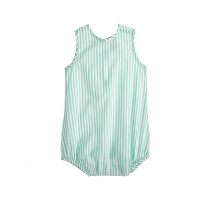 Baby one-piece in stripe