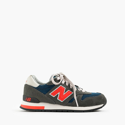 Kids' New Balance® for crewcuts K1300 lace-up sneakers in dark military