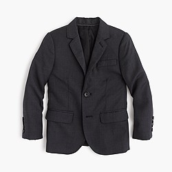 Boys' Ludlow suit jacket in Italian worsted wool