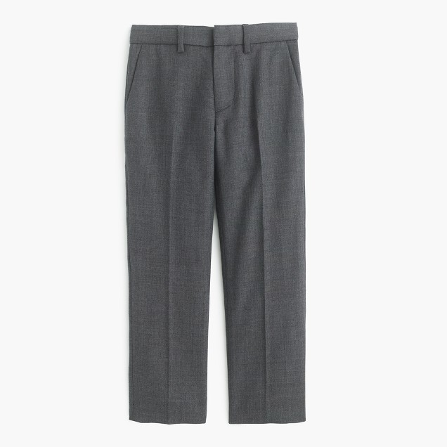 Boys' slim Ludlow suit pant in Italian worsted wool