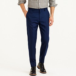 Ludlow suit pant in Italian wool flannel
