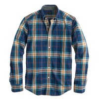 Slim Secret Wash shirt in plaid