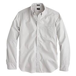 Slim Secret Wash shirt in microgingham