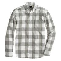 Secret Wash shirt in oversize gingham