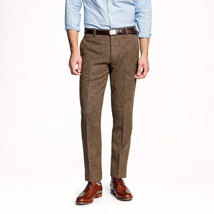 Ludlow slim suit pant in English tweed