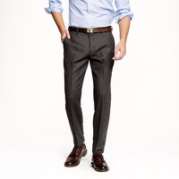 Ludlow slim suit pant in houndstooth Italian wool